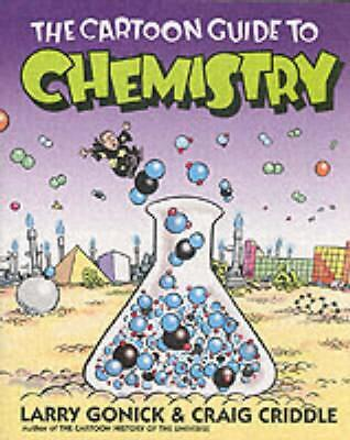 The Cartoon Guide to Chemistry by Larry Gonick Paperback Book (English)