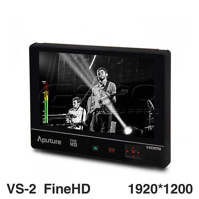 Aputure VS-2 FineHD V-Screen 1920*1200 HDMI 7 inch IPS Field Monitor Kit UK