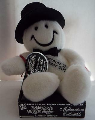 NEW Tickle Tickle Wiggle Wiggle Millennium Collectible SNOWMAN Ltd Edition 2000