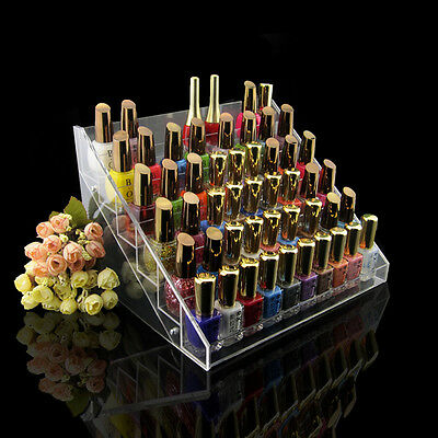 New Nail Polish Table Rack Display Manicure Pedicure Acrylic Beauty Holder C61
