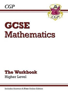 GCSE Maths Workbook (with Answers and Online Edition) - ..., CGP Books Paperback