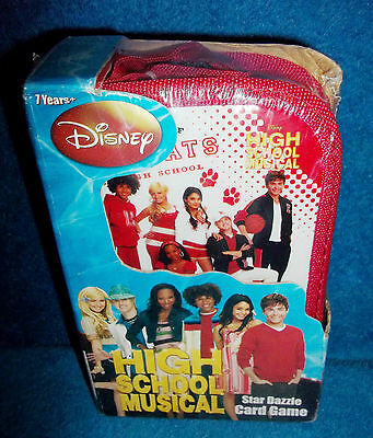 Disney - High School Musical - Star Dazzle Card Game - New & Sealed