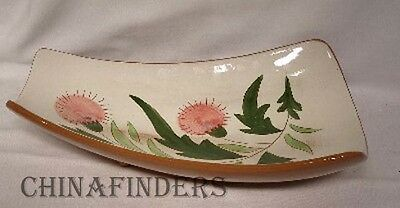STANGL china THISTLE pattern Relish Dish - 11-3/8""