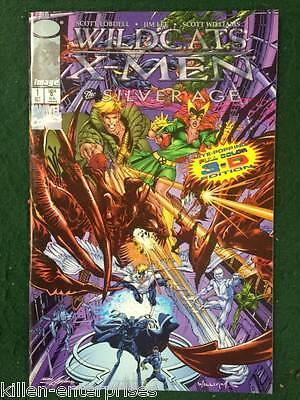 WILDC.A.T.S/X-Men: The Modern Age 3D #1 Comic Book w/ Glasses Image Marvel 1997