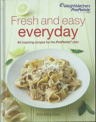 Weight Watchers Fresh and Easy Everyday Cookbook Book The Cheap Fast Free Post