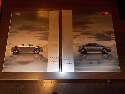 2002 Audi TT Coupe and Roadster 42-Page Deluxe Sales Catalog