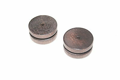 Two Small Wood Og  Pulleys New Clock Parts