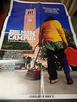 "Big Man on Campus Allan Katz 1989 27x41"" Original Movie Poster 010615ame"