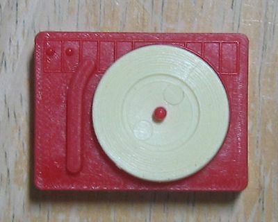Tressy Plastic Record Player Red