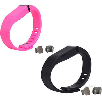 Replacement Wristband With Clasp For Fitbit Flex Wireless Sport  Bracelet   S