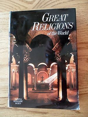 Great Religions of the World National Geographic Society HC DJ 1971