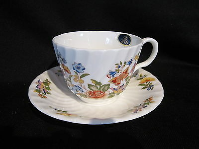Aynsley COTTAGE GARDEN - Cup & Saucer - BRAND NEW