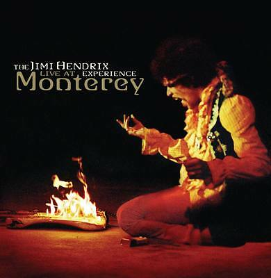 JIMI HENDRIX EXPERIENCE Live At Monterey LP Vinyl 180g Limited Edition * NEW