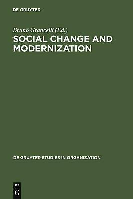NEW Social Change and Modernization by Hardcover Book (English) Free Shipping
