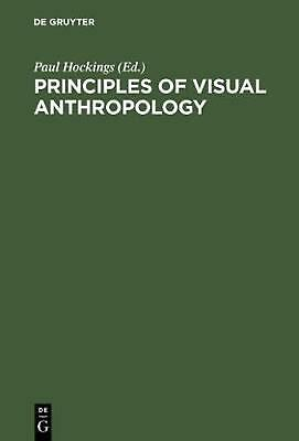 NEW Principles of Visual Anthropology by Hardcover Book (English) Free Shipping