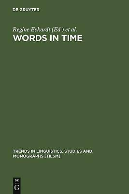 NEW Words in Time by Hardcover Book (English) Free Shipping
