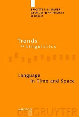 NEW Language in Time and Space by Hardcover Book (English) Free Shipping