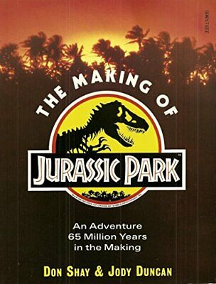 The Making of Jurassic Park by Duncan, Jody Paperback Book The Cheap Fast Free
