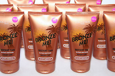 12 x Collection 2000 Bronze Me Instant Tan | Light Medium | RRP £50+| Job Lot