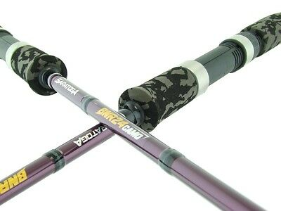 SARATOGA BNR24 CAMO 6'6 3-5kg Graphite Soft Plastics Bream Spinning Fishing Rod