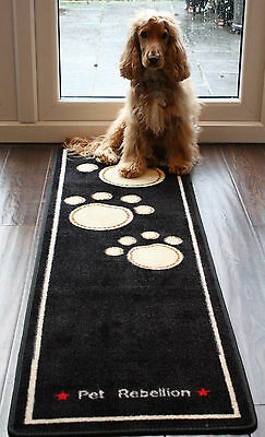 Muddy Paws Pet Rebellion  XL  DOOR RUNNER MAT 150cm x 45cm absorbant & washable