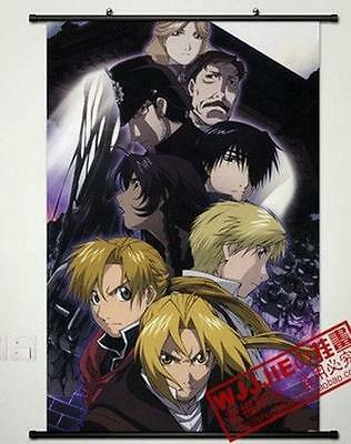 "Anime Fullmetal Alchemist Home Decor Cosplay Poster Wall Scroll 23.6*35.4"" C467"