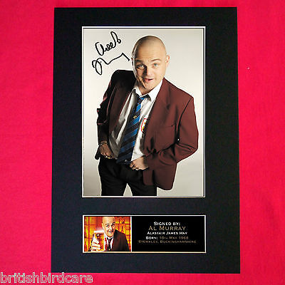 AL MURRAY Mounted Signed Photo Reproduction Autograph Print A4 101