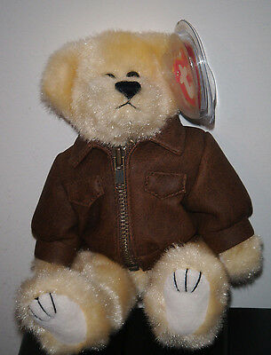 1993 Ty Attic Treasures ~ BARON the Bear ~ MINT with MINT TAGS ~ RETIRED