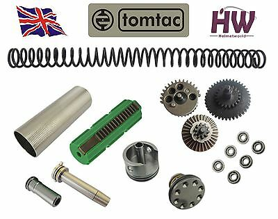 Airsoft Aeg V2 Gear Full Tune Up Upgrade Kit Set For M Series Spring Piston