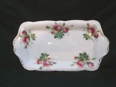 Hammersley  - Grandmother's Rose - Sandwich Tray
