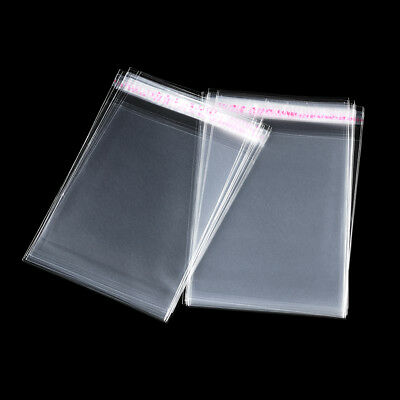 2000pcs Clear Resealable OPP Self Adhesive Seal Plastic Cellophane CELLO Bags
