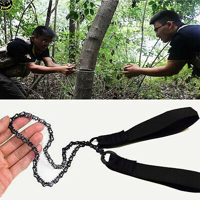High Quality Handsaw Outdoor Utility Survival Camping Tools Pocket Chain Saw Cut