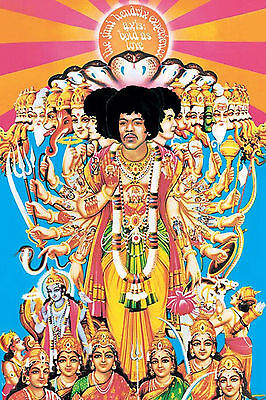 Jimi Hendrix Axis Bold As Love Poster New  !