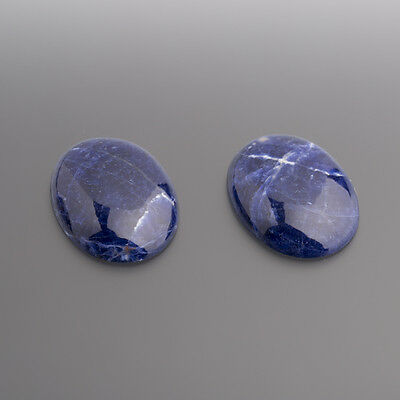 Sodalith Cabochon Oval 25 x 19 mm / BOX