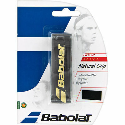 Babolat Natural Leather Replacement Grip Tennis Squash Overgrip