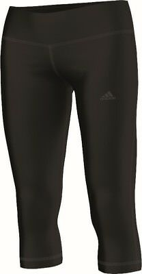 adidas Damen Sport Fitness 3/4 Hose Basics 3/4 Tight schwarz