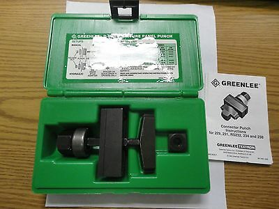 Greenlee 234 37-Pin D-Subminiature Panel Punch