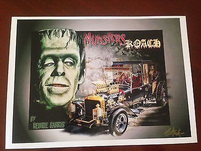 Munsters Koach By George Barris Print