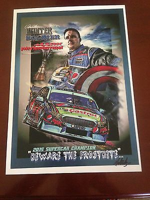 2015 Supercar Champion Mark Winterbottom Print