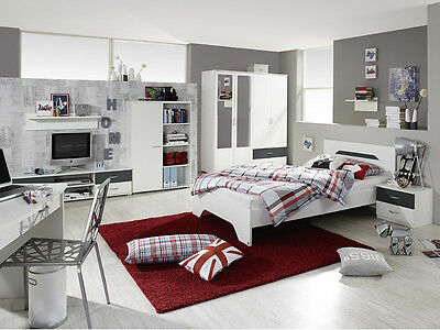 jugendzimmer broome 8tlg kinderzimmer kind jugend. Black Bedroom Furniture Sets. Home Design Ideas