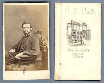 Reverend R.W. Sturr, Methodist Church  Appleton & Co., Bradford.  Carte de Visit