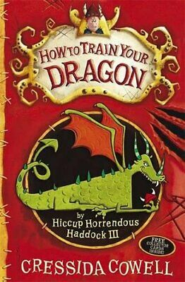 How To Train Your Dragon by Cowell, Cressida Paperback Book The Cheap Fast Free