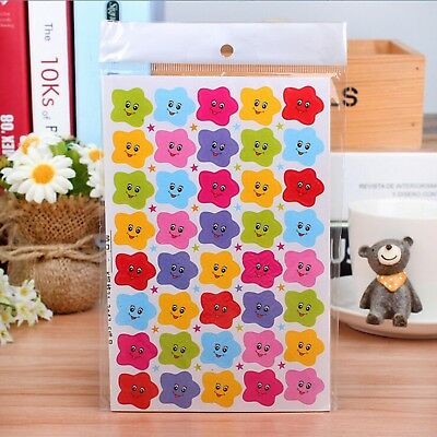 400Pcs Smiley Face Kids Stars Reward Stickers Kindergarten Teacher Use Necessary