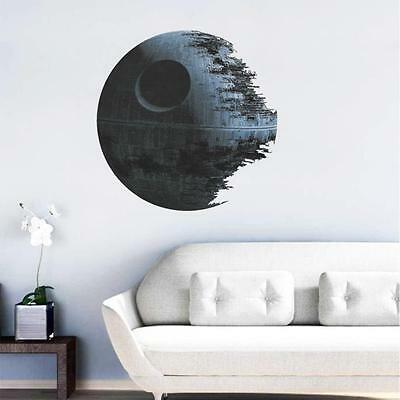 Death Star GRAFIK Star Wars Home Decor Wandaufkleber Wallpaper Wandtattoos New