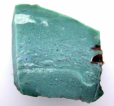 211 Gram AAA Natural Blue Green Translucent Chrysoprase Slab Cab Cabochon Rough