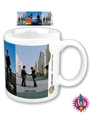 Pink Floyd The Wall Dark Side Of The Moon New & Gift Boxed Retro Logo Mug Cup