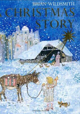 A Christmas Story: Mini Edition by Wildsmith, Brian Hardback Book The Cheap Fast