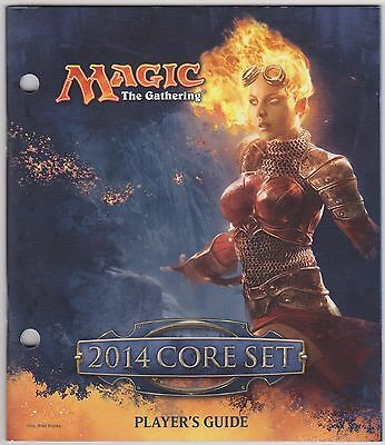 Overig Magic: The Gathering, MTG) Magic the Gathering MTG 2014 Core set Players Guide