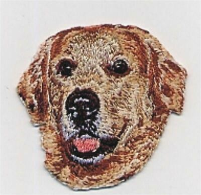 """2 1//8/""""x2 1//8/"""" White Chihuahua Head Portrait Dog Breed Embroidery Patch"""