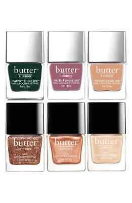 BUTTER LONDON NAIL Lacquer Vernis Polish Color Full Size .4 Oz ...